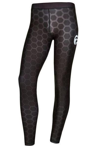 px damen leggings schwarz grau lang. Black Bedroom Furniture Sets. Home Design Ideas