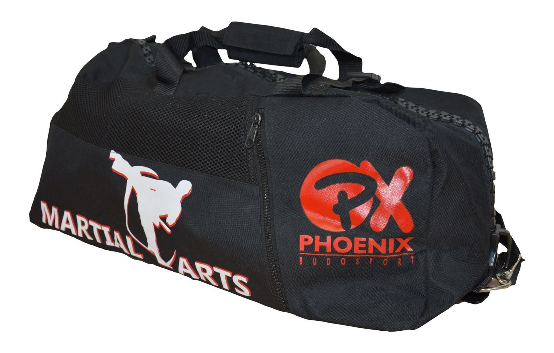 sporttasche rucksack martial arts 55x25x25cm. Black Bedroom Furniture Sets. Home Design Ideas