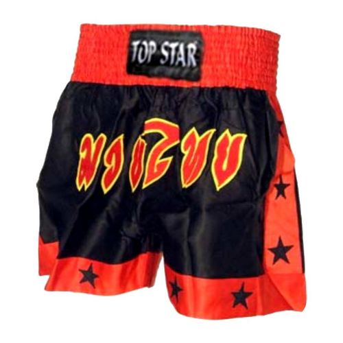 "Kick-Thai-Box Shorts schwarz-rot ""Thai"""