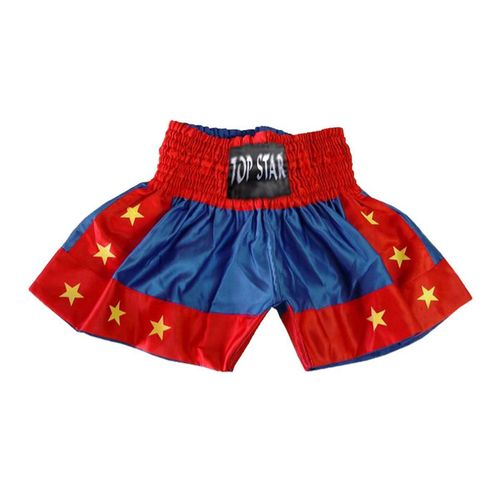 "Kick-Thai-Box Shorts blau-rot-gelb ""Thai"""