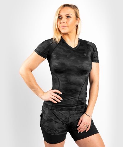 Venum Women Defender Rashguard Short Sleeves
