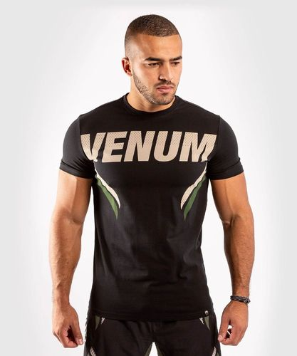 Venum ONE FC2 T-Shirt Black /Khakie