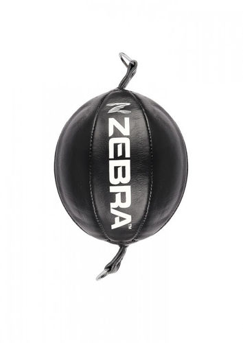 Double End Ball Zebra Pro Leder ca. 25 cm